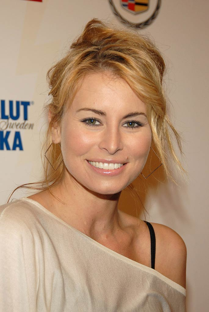 Niki Taylor at Super Bowl XL - Maxim Rocks Detroit With a Rock City Opera.