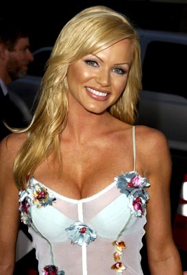 Premiere: Nikki Schieler aka Nikki Ziering at the Beverly Hills premiere of Paramount's Serving Sara - 8/20/2002