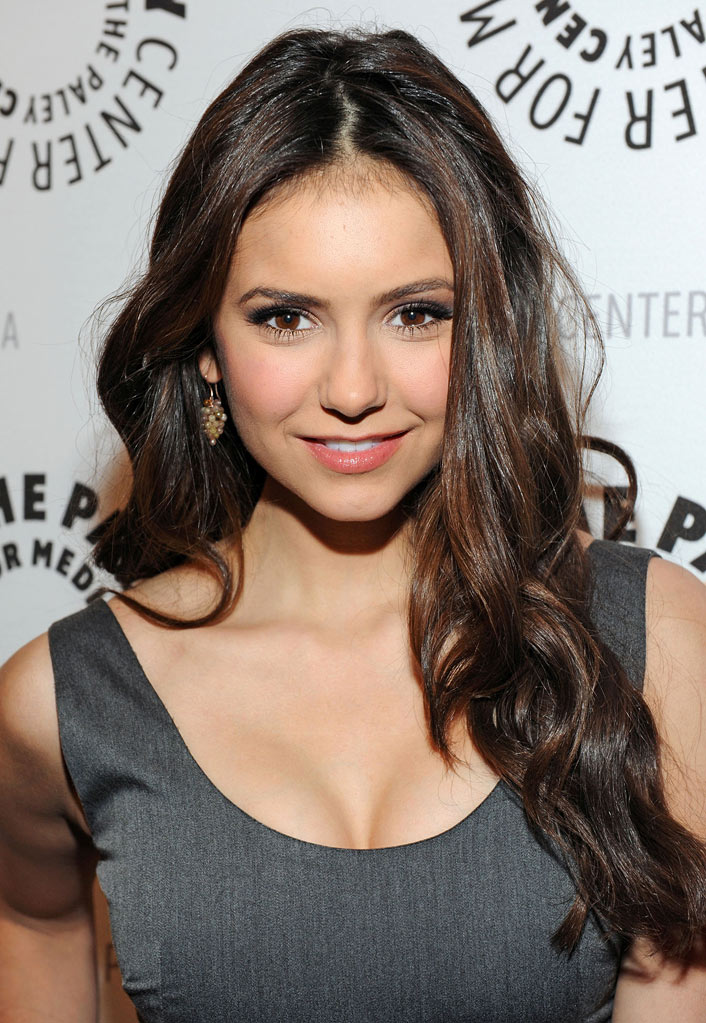 "Nina Dobrev attends the 27th annual PaleyFest honoring ""Vampire Diaries"" at Saban Theatre on March 6, 2010 in Beverly Hills, California."