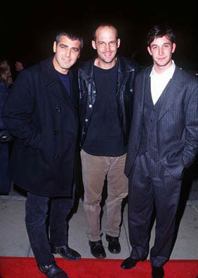 Premiere: George Clooney, Anthony Edwards and Noah Wyle at the Hollywood premiere of Dimension's From Dusk Till Dawn - 10/17/1996