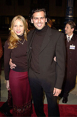 Premiere: Oded Fehr and gal at the Beverly Hills premiere of Columbia's Finding Forrester - 12/1/2000