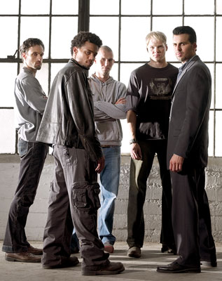 Henri Lubatti, Michael Ealy, Alex Nesic, Blake C. Shields, Oded Fehr Showtime's 'Sleeper Cell'