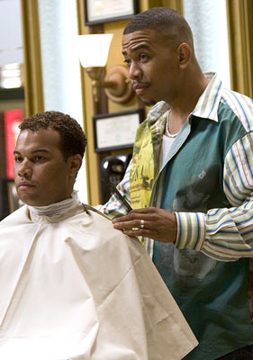Omar Gooding Showtime's 'Barbershop: The Series'