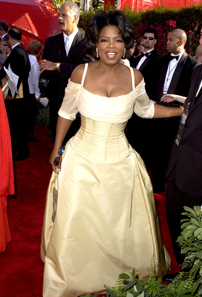 Oprah Winfrey at The 54th Annual Primetime Emmy Awards.