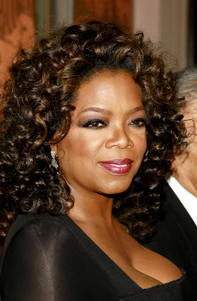 Oprah Winfrey honored by the Elie Wiesel Foundation with Humanitarian Award.
