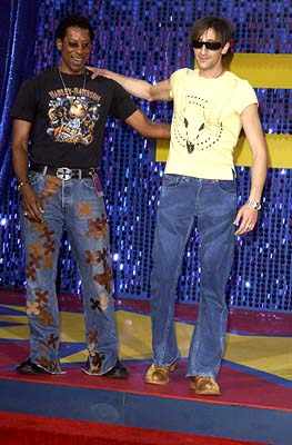 Orlando Jones and Adrien Brody MTV Movie Awards - 5/31/2003
