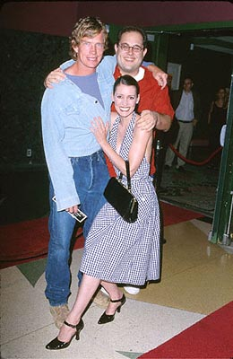 Premiere: Thomas Haden Church, Craig Mazin and Paget Brewster at the Los Angeles premiere of Regent's The Specials - 9/18/2000