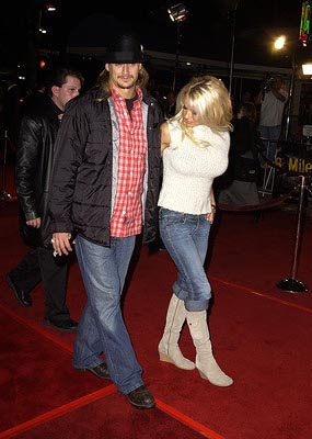 Premiere: Kid Rock and Pamela Anderson at the LA premiere of Universal's 8 Mile - 11/6/2002