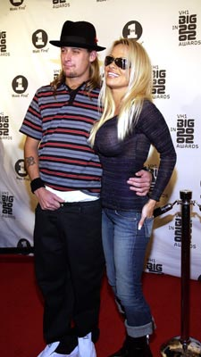 Kid Rock and Pamela Anderson VH-1 Big in 2002 Awards - 12/4/2002