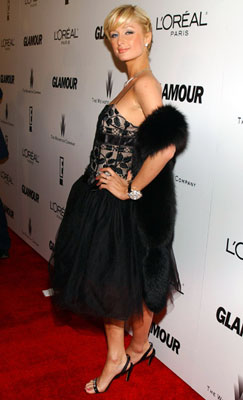 Paris Hilton The Weinstein Co./Glamour 2006 Golden Globe After Party Beverly Hills, CA - 1/16/2006