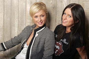 Paris Hilton and Nicky Hilton Hilton Sisters Portraits - 1/23/2005 Sundance Film Festival