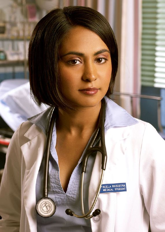 Parminder Nagra  as Dr. Neela Rasgotra in ER on NBC.