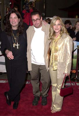 Premiere: The Ozzman Poseth - Ozzy Osbourne, Adam Sandler and Patricia Arquette at the Mann's Chinese Theatre premiere of New Line's Little Nicky - 11/2/2000