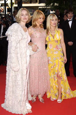 "Sharon Stone, Rosanna Arquette and Patricia Arquette ""Searching for Debra Winger"" Premiere Cannes Film Festival - 5/16/2002"