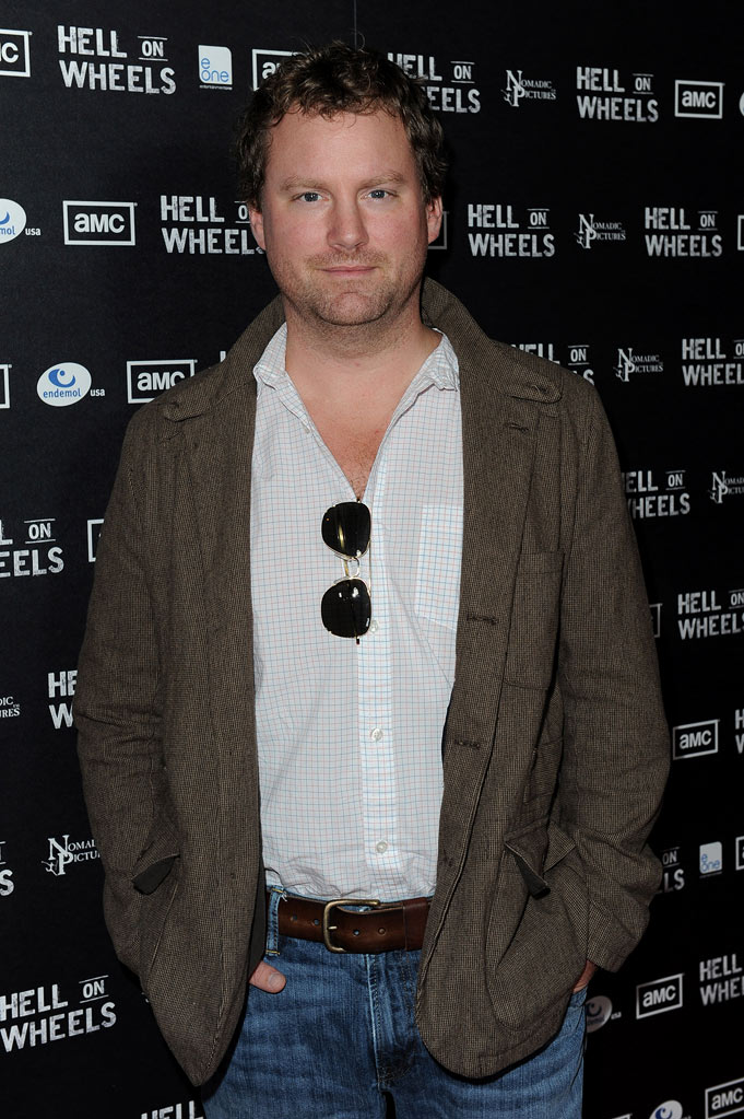 "Patrick Gilmore arrives at the premiere of AMC's ""Hell on Wheels"" at LA Live on October 27, 2011 in Los Angeles, California."