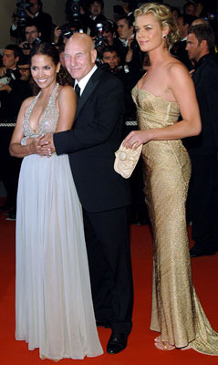 Premiere: Halle Berry, Patrick Stewart and Rebecca Romijn at the 2006 Cannes Film Festival premiere of 20th Century Fox's X-Men: The Last Stand - 5/22/2006