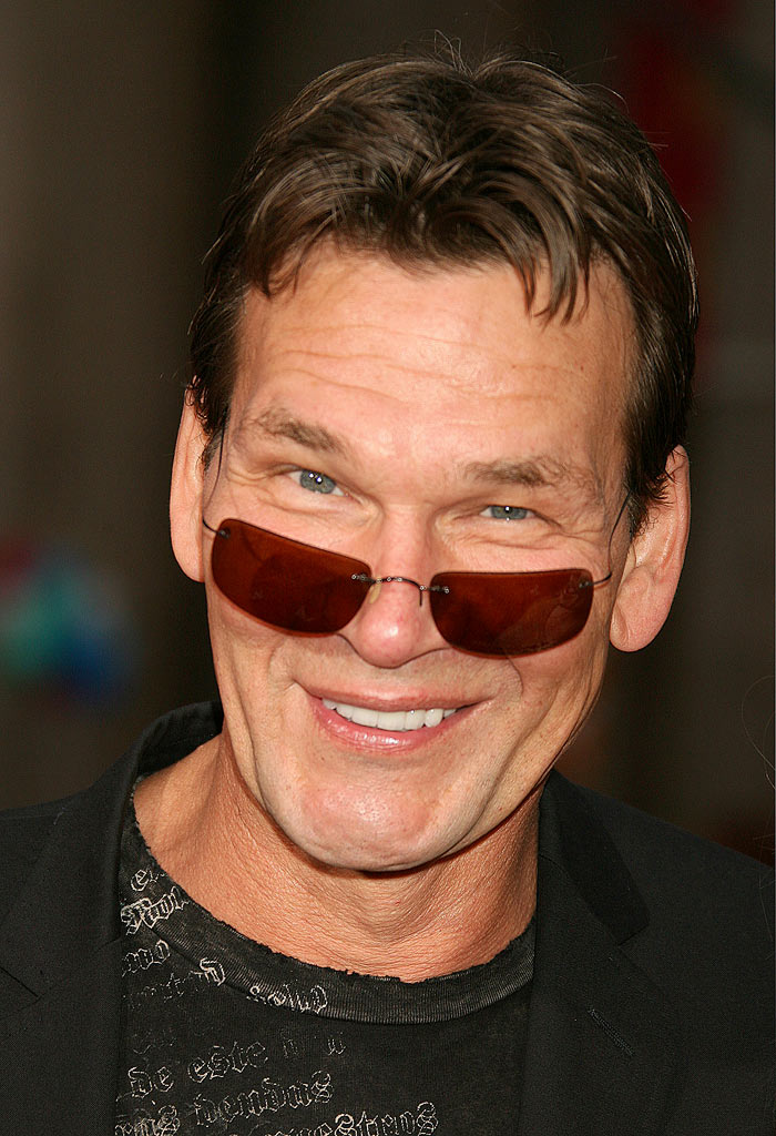 "Patrick Swayze at the ""Mission: Impossible III"" Fan Screening."