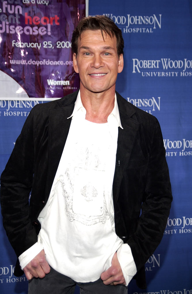 Patrick Swayze headlines ìDay of Dance For Heart Healthî at Robert Wood Johnson University Hospital in New Brunswick, NJ on February 25, 2006.