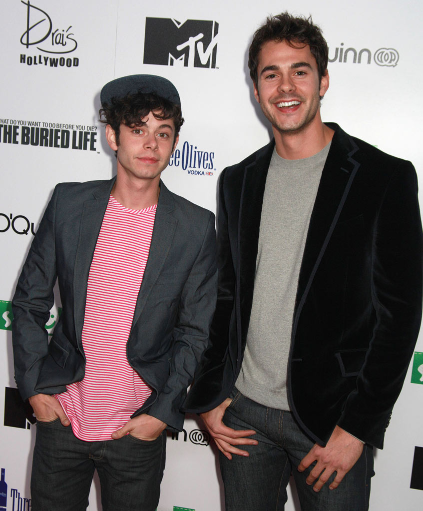 "Paul Iacono and Jayson Blair arrive at MTV's ""The Buried Life"" Season 2 Premiere Party at Drai's Hollywood on September 22, 2010 in Hollywood, California."
