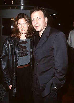 Premiere: Paul Reiser and his wife at the premiere of Gramercy's Lock, Stock and Two Smoking Barrels - 2001