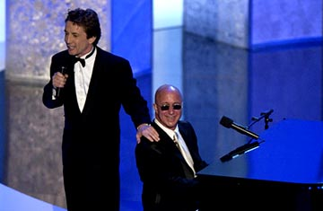 Martin Short, Paul Shaffer 55th Annual Emmy Awards - 9/21/2003