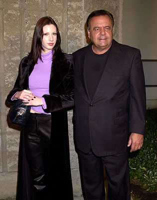 Premiere: Paul Sorvino and galpal at the Beverly Hills premiere of A Beautiful Mind - 12/13/2001