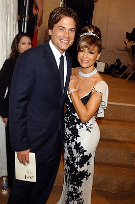 Rob Lowe and Paula Abdul 55th Annual Emmy Awards - 9/21/2003