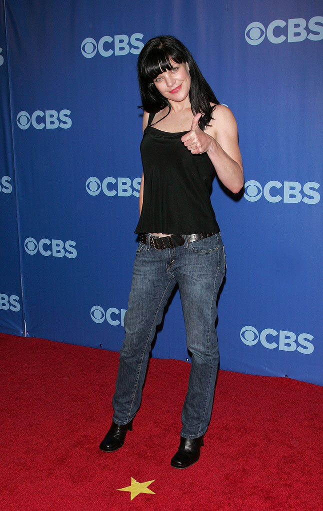 "Pauley Perrette (""Criminal Minds"") attends the 2010 CBS Upfront at The Tent at Lincoln Center on May 19, 2010 in New York City."
