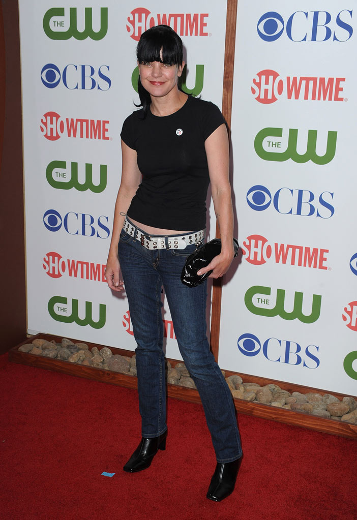 "Pauley Perrette of ""NCIS"" attends the CBS, The CW, and Showtime 2011 Summer TCA Party at The Pagoda on August 3, 2011 in Beverly Hills, California."