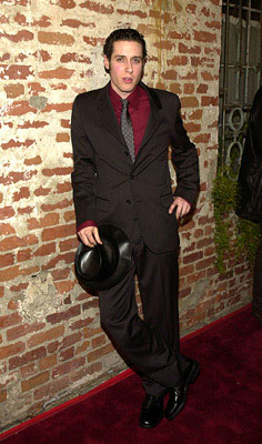 Premiere: Paulo Costanzo at the LA premiere of Miramax's 40 Days and 40 Nights - 2/20/2002