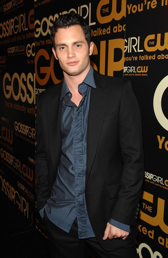 "Penn Badgley arrives at ""Gossip Girl"" premiere party at TenJune."