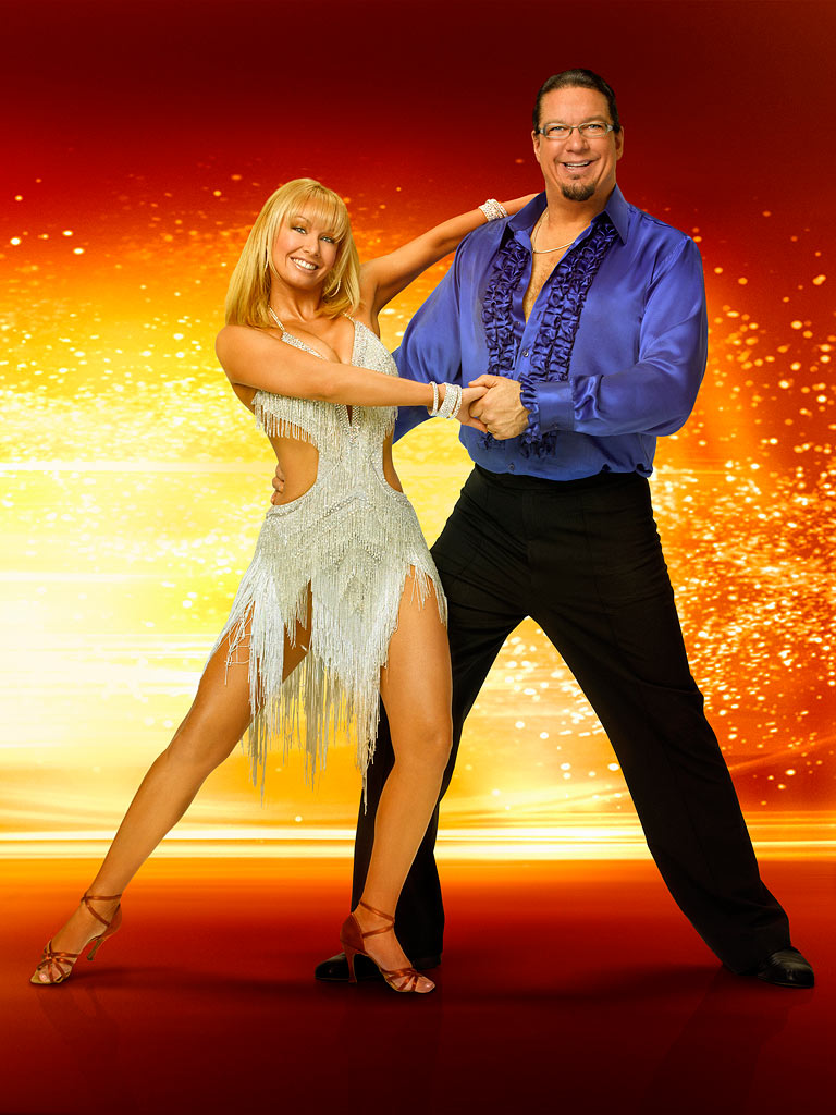 Illusionist Penn Jillette teams up with professional dancer Kym Johnson for Season 6 of Dancing with the Stars.