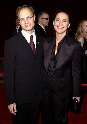 David Hyde Pierce and Peri Gilpin 53rd Annual Emmy Awards - 11/4/2001