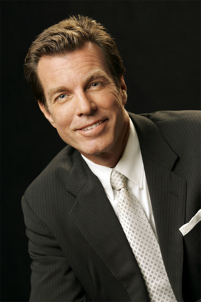 Peter Bergman stars as Jack Abbott in The Young and the Restless on CBS.