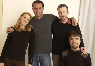 Patricia Clarkson, Bobby Cannavale, Tom McCarthy and Peter Dinklage The Station Agent Sundance Film Festival 1/18/2003