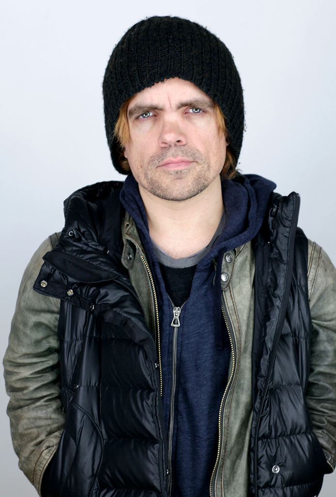 Peter Dinklage poses for a portrait during the 2011 Sundance Film Festival at the WireImage Portrait Studio at The Samsung Galaxy Tab Lift on January 21, 2011 in Park City, Utah.