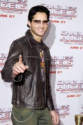 Premiere: Peter Facinelli at the LA premiere of Columbia's Charlie's Angels: Full Throttle - 6/18/2003