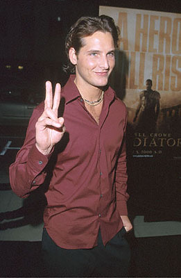Premiere: Peter Facinelli at the Beverly Hills Academy Theater premiere for Dreamworks' Gladiator - 5/1/2000