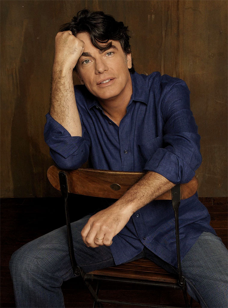 Peter Gallagher stars as Sandy Cohen in the The O.C. on FOX.