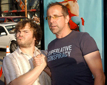 Premiere: Jack Black and Peter Stormare at the Hollywood premiere of Paramount Pictures' Nacho Libre - 6/12/2006