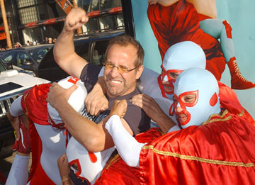 Premiere: Peter Stormare with the Nachos at the Hollywood premiere of Paramount Pictures' Nacho Libre - 6/12/2006