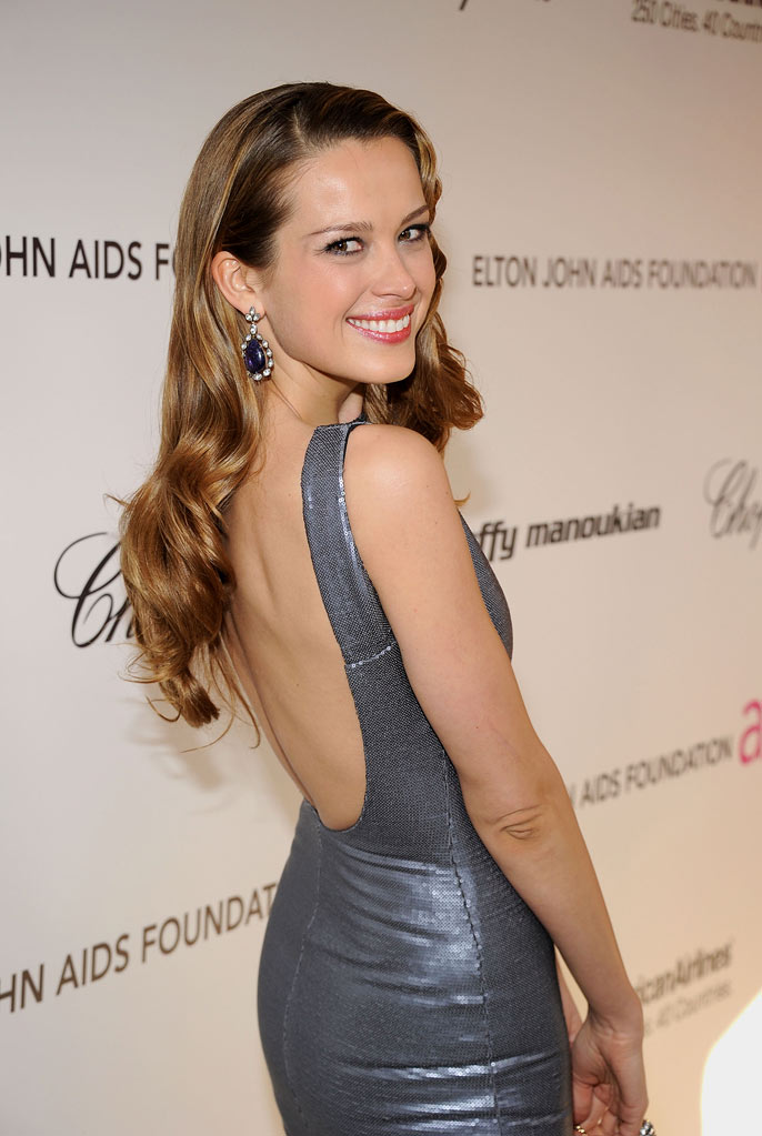 Petra Nemcova arrives at the 19th Annual Elton John AIDS Foundation Academy Awards Viewing Party at the Pacific Design Center on February 27, 2011 in West Hollywood, California.