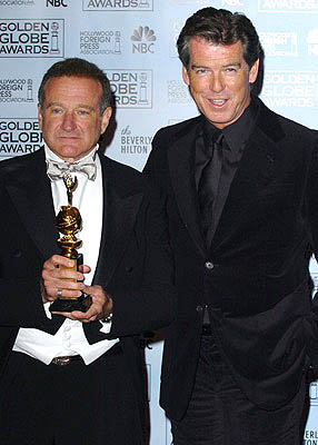 Robin Williams and Pierce Brosnan Cecil B. DeMille Award Golden Globe Awards - 1/16/2005