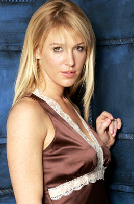 Poppy Montgomery Between Portraits - 1/24/2005 Sundance Film Festival