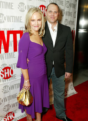 Rachael Harrisand Adam Paul at the Los Angeles premiere of Showtime's Fat Actress - 2/23/2005