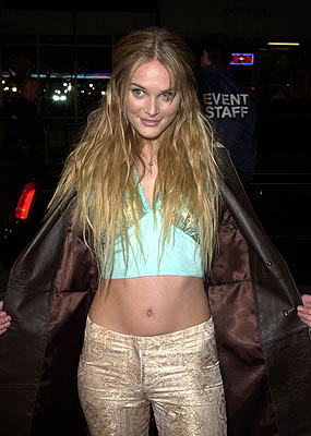 Premiere:  Rachel Blanchard at the Westwood premiere of New Line's Sugar and Spice - 1/24/2001