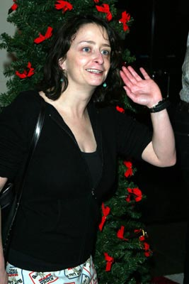 Premiere: Rachel Dratch at the New York premiere of New Line's Elf - 11/2/2003