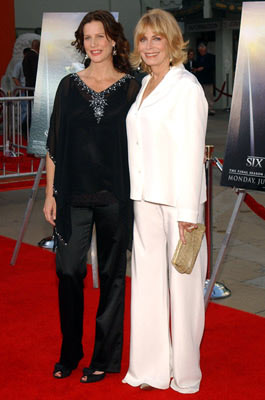 Rachel Griffiths and Joanna Cassidy HBO's Six Feet Under Premiere Hollywood, CA - 5/17/2005