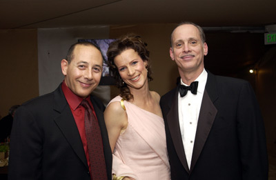 Paul Reubens, Rachel Griffiths and John Waters Elton John AIDS Foundtation In-Style Party Hollywood, CA 3/24/2002