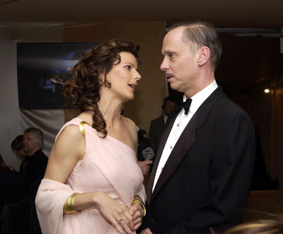 Rachel Griffiths and John Waters Elton John AIDS Foundtation In-Style Party Hollywood, CA 3/24/2002